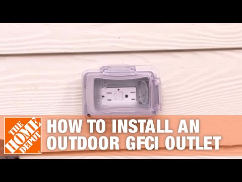 how-to-install-an-outdoor-gfci-electrical-outlet-|-the-home-depot