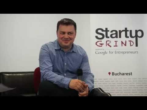 Andrei Pitis (Vector Watch) at Startup Grind Bucharest