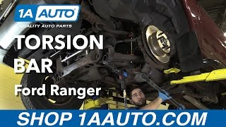 How to Replace Install Torsion Bar 01 Ford Ranger