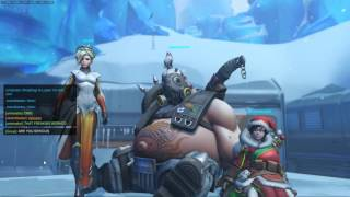 Overwatch Roadhog Moment and Reaper POTG on Ecopoint: Antarctica