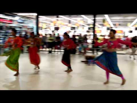 A beautiful sinhala tamil new year dance