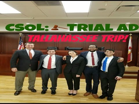 Episode 9: Trial Advocacy Competition in Tallahassee!!! - Law School Trip to FSU