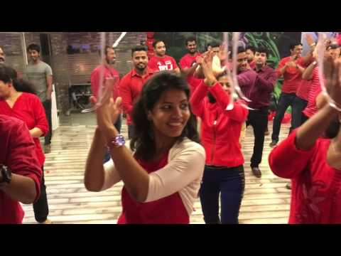 Crazy Crazy Feeling, Valentine's Day Celebrations 2017 at Sri Dance and Fitness Studio
