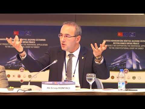 7-8 Mayıs 2018 yuvarlak masa toplantısı - A. E. Kontacı