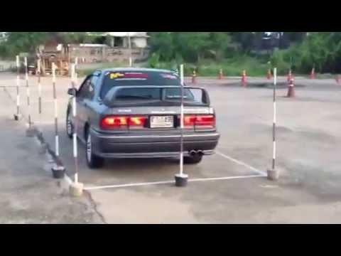 ท่าสอบใบขับขี่ทั้ง 3 ท่า โดย ครูเต่า