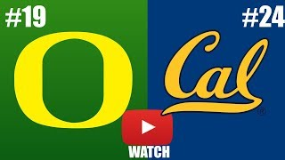 Oregon vs California Week 5 Full Game Highlights (HD)