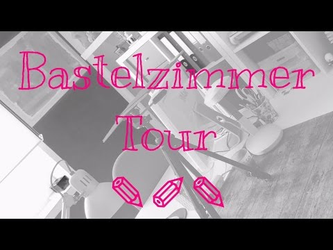***Mein Bastelzimmer***---Craft Room Tour ***[Vlog | deutsch]