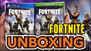 Fortnite (PS4/Xbox One) Unboxing !!