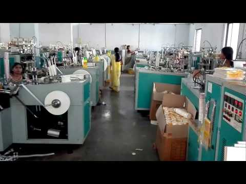 Economic paper cup machine DB-L12 of 50 sets