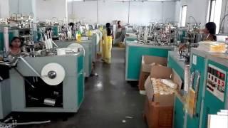 Economic paper cup machine DB-L12 of 50 sets