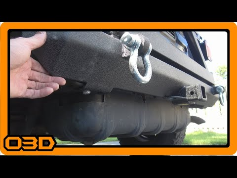Installation of Smittybilt SRC Rear Bumper and Tire Carrier - Project 2004 TJ Wrangler