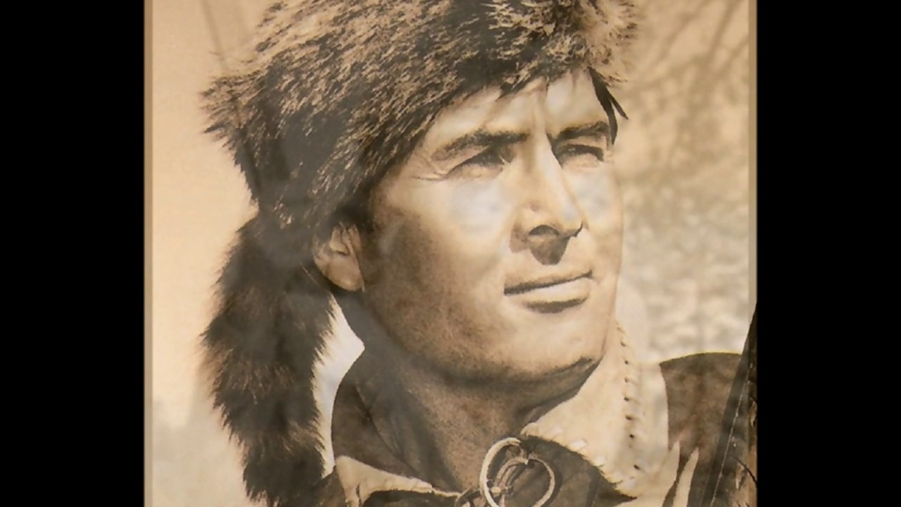 A report on the life and works of davy crockett