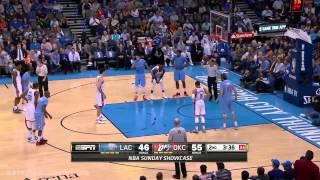 LA Clippers vs Oklahoma City Thunder   Full Game Highlights   February 8, 2015