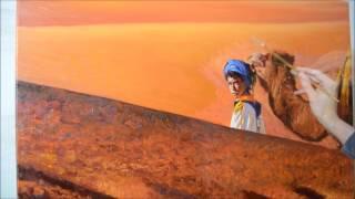 Come dipingere le dune del deserto / Como pintar dunas do deserto