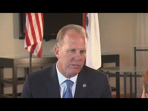 San Diego Mayor Talks Border And Economy With KPBS