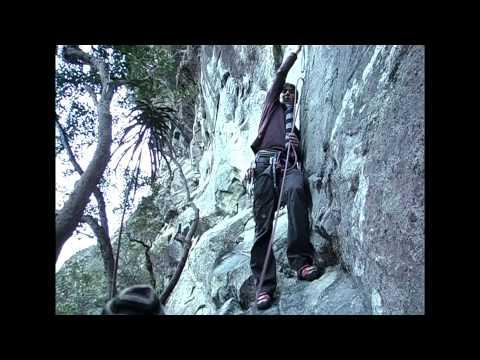Rock climbing milford road Fiordland, New Zealand part 2