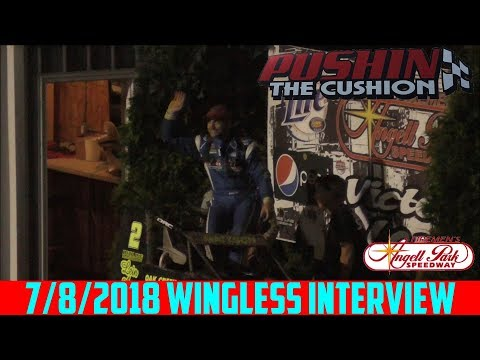 Angell Park Speedway - 7/8/2018 - Wingless Sprints - Feature - Interview