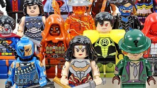 Batman Villains & Justice League Wonder Woman Superman Unofficial LEGO Minifigures