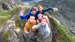 Путешествие по Норвегии.(Отдых 6 молодых людей в Норвегии. За время путешествия нами было преодолено 3500км. Мы побывали почти во всех..., 2014-08-08T14:21:53.000Z)