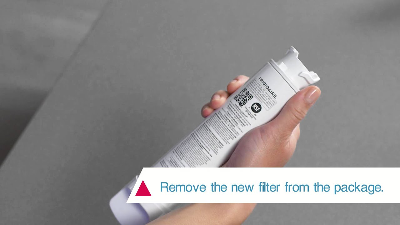 How to Install the Frigidaire PureSource Ultra® II Water Filter
