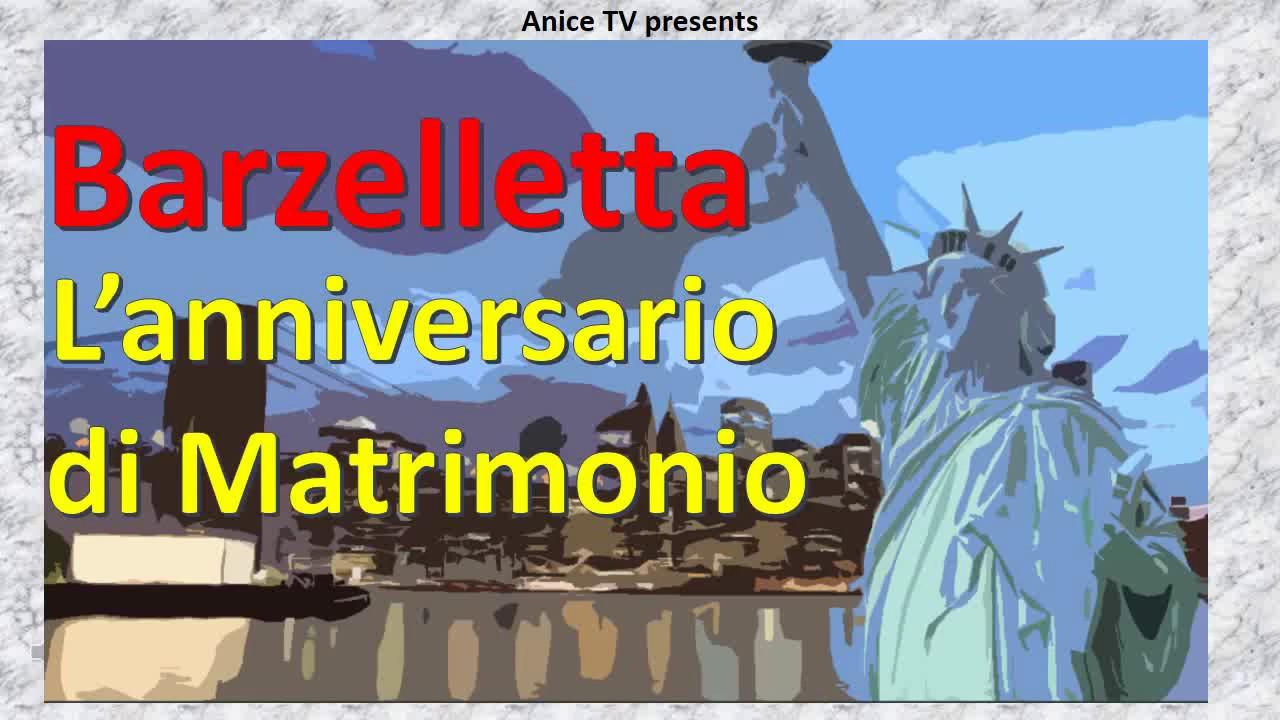 Anniversario Di Matrimonio Barzellette.Barzelletta L Anniversario Di Matrimonio A New York Youtube