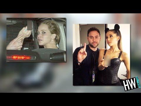 WTF! Ariana Grande & Jennifer Lawrence...
