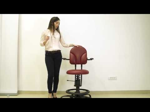 Healthy Alternative to an Office Chair: SpinaliS Basic Series Chairs