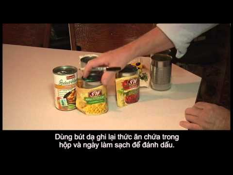 Food Safety Tips (in Vietnamese)