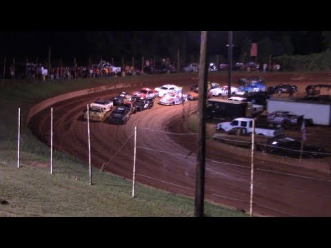 Winder Barrow Speedway Stock 4 Cylinders B's Feature Race 8/10/19