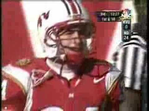 Steve Suter with amazing reception in Gator Bowl