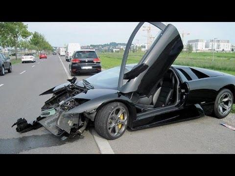 Accident de voiture les plus chere du monde lamborghini youtube - Coup du lapin accident de voiture ...