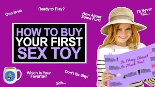 How to Buy Your First Sex Toy - Coffee with Alice #sextoy #vibrator