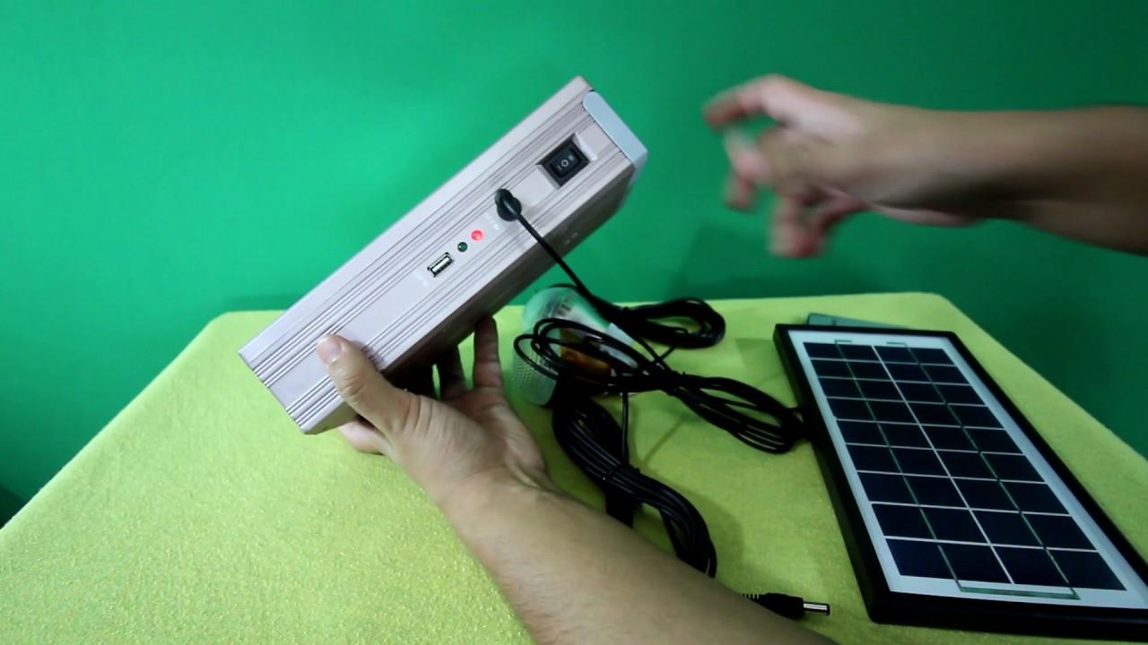 36579cf77c7 Kit de Energia Solar completo pronto para uso - YouTube