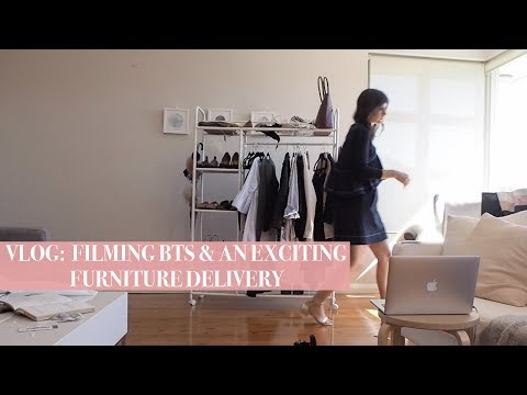 What working full time & blogging REALLY looks like | Mademoiselle VLOGS