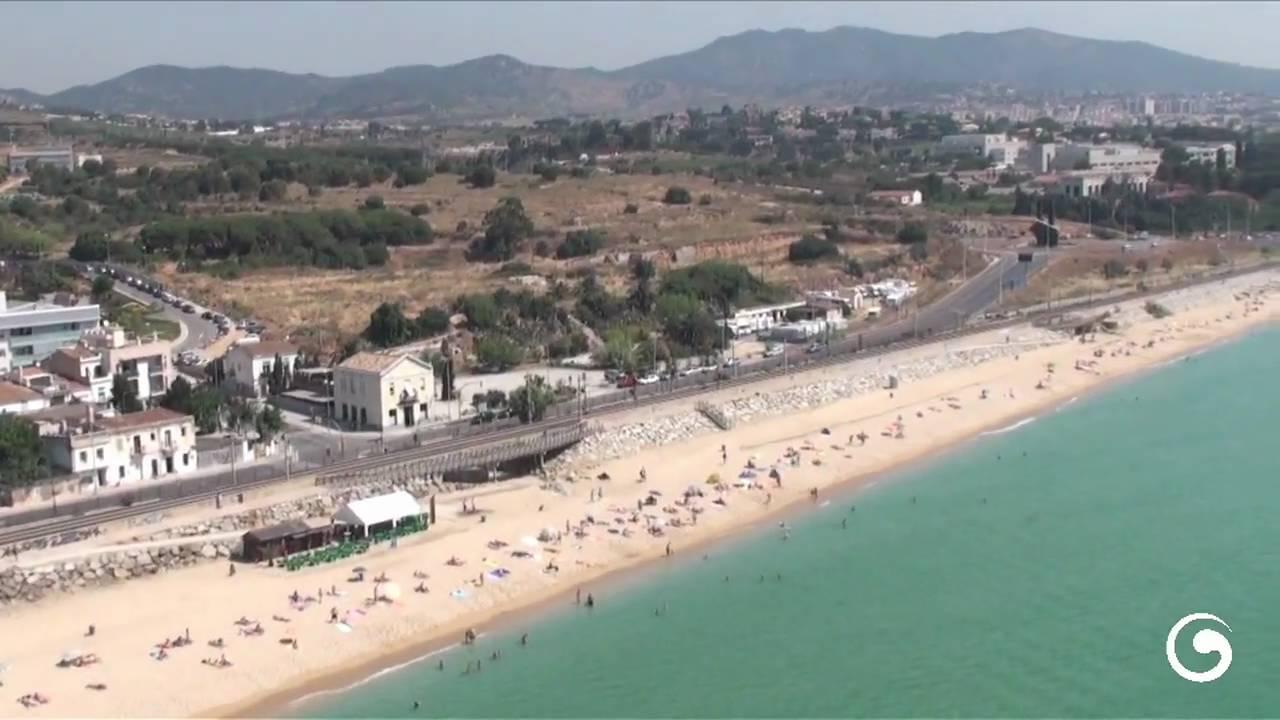 Platja de Montgat Nord (HD) - YouTube