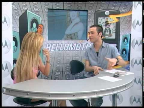 Number 1 TV 11 Nisan 2005 Hello Moto Programı Berna Arıcı