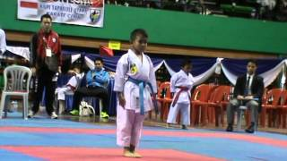 Muhammad Iqbal   Karate Kids Final Kata Age 8   9 Di Asian Karate Cup Silent Knight 6th 2015   Kuala