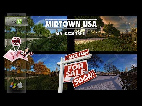 MIDTOWN USA-FS17 PRE RELEASE MAP TOUR