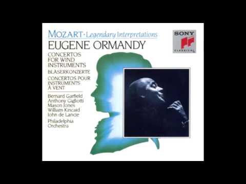 MOZART: Horn Concerto No. 2 in E flat major KV 417 / Jones·Ormandy · Philadelphia Orchestra