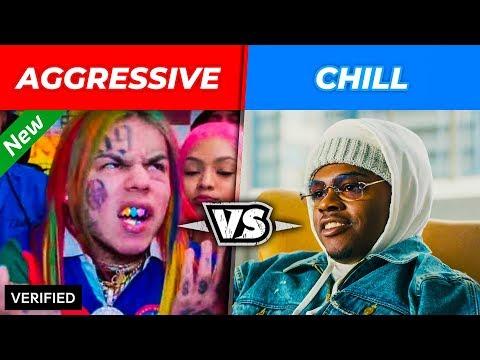 AGGRESSIVE VS. CHILL RAPPERS