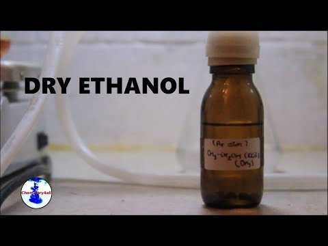 How To Work Under Inert Atmosphere/Making Anhydrous Ethanol