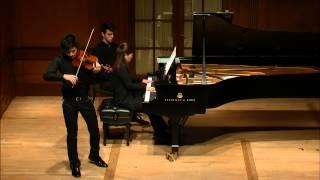 César Franck Violin Sonata-Zeyu Victor Li