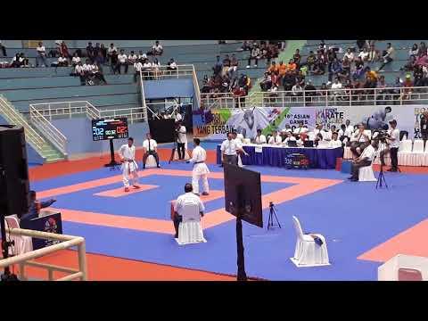 Test Event Karate ( Kejuaraan Antar-Master ) GANGGA