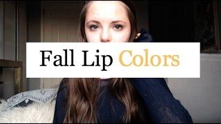 ★ Fall Lip Colors ★ // rileyalex Thumbnail