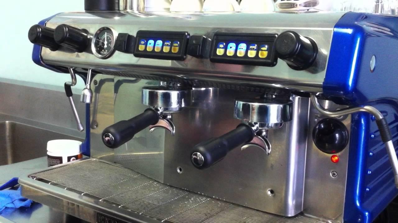 How To Back Flush An Expobar Espresso Machine By Mahalia Coffee