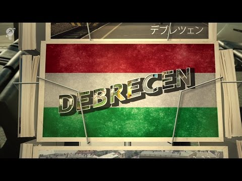 postcards Debrecen Hungary