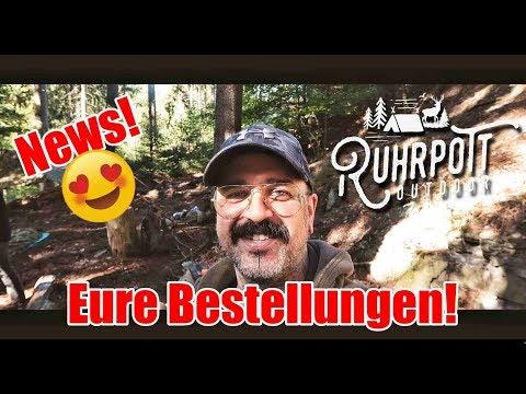 Eure Bestellung! - Patches & Shirts - Ruhrpott Outdoor 1815