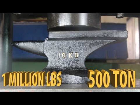 YouTubes Strongest Hydraulic Press The Crusher