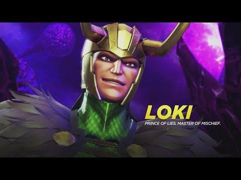 Marvel Ultimate Alliance 3 The Black Order - Loki Boss Fight - 동영상