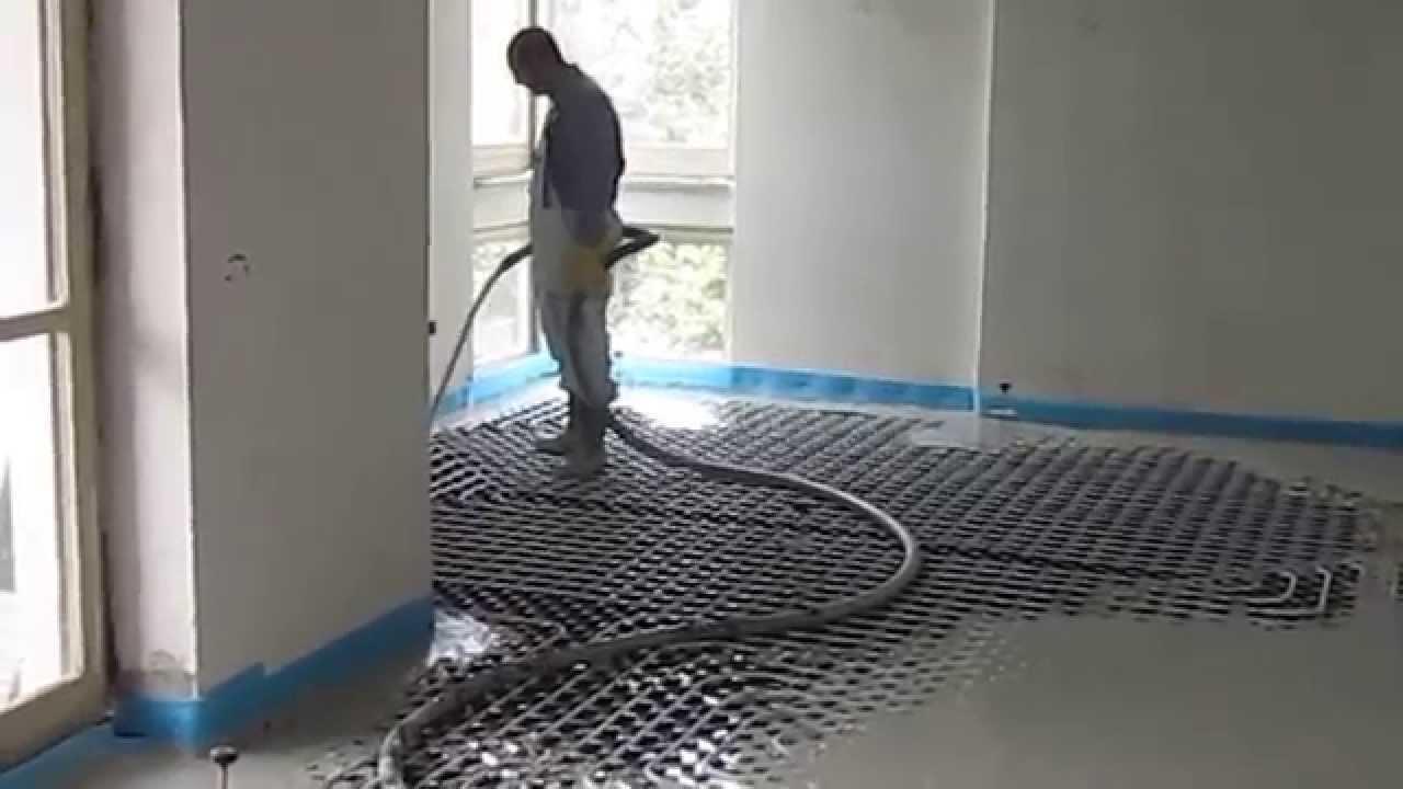 Massetto Per Pavimento Riscaldato edilizia privata // napoli, impianto a pavimento radiante